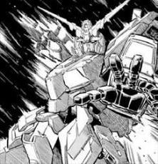 機動戦士ガンダムUC バンデシネ3巻ユニコーンガンダムバトル描写