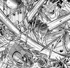 機動戦士ガンダムUC バンデシネ7巻バトル描写