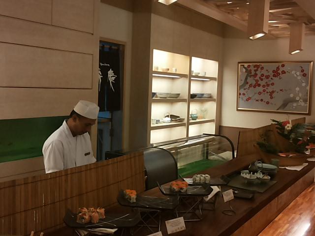 寿司コーナー