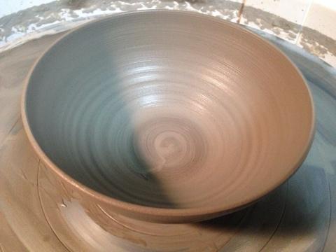 春の作陶。