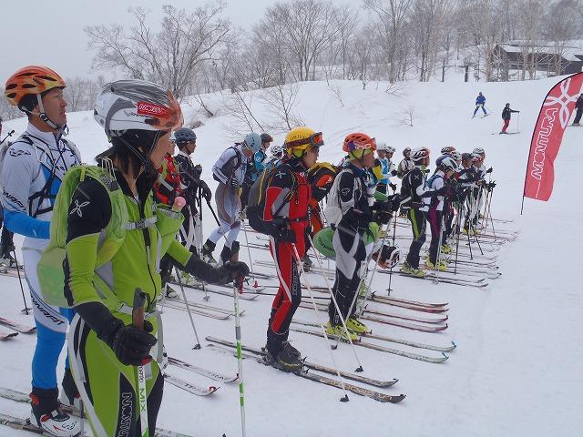 山岳スキー競技日本選手権大会へ...